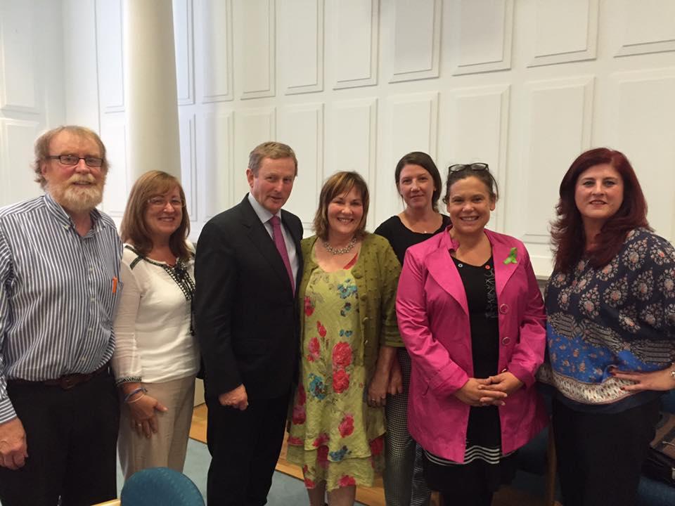 Dublin NICCC Subgroup meets Taoiseach